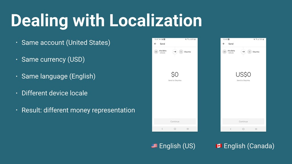 Dealing with Localization  English (US)  Englis...