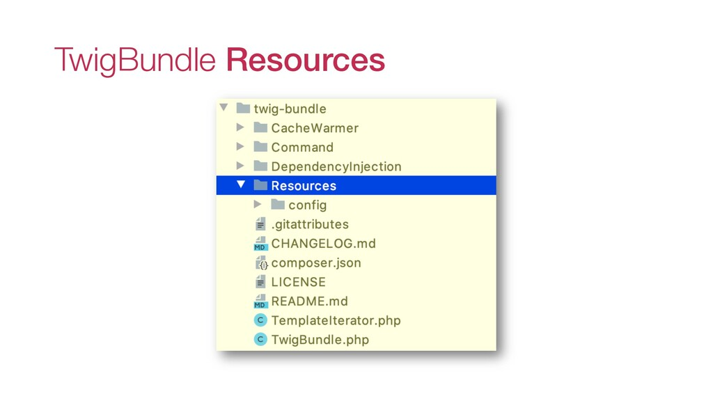 TwigBundle Resources
