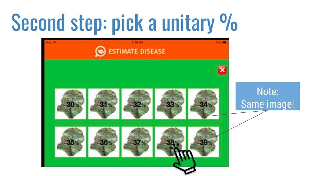 Second step: pick a unitary % Note: Same image!