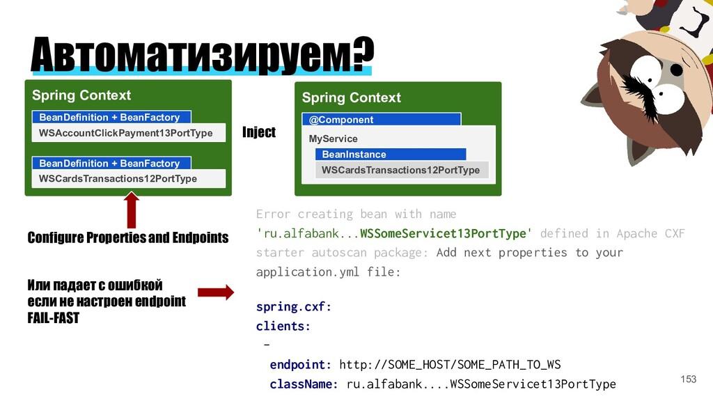 Автоматизируем? Spring Context BeanDefinition +...