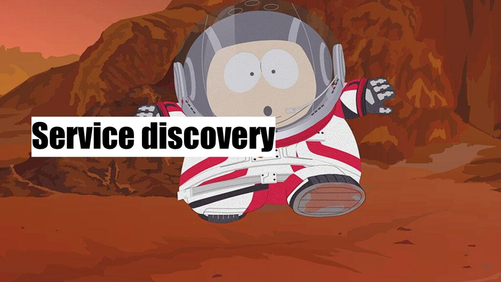 Service discovery 72