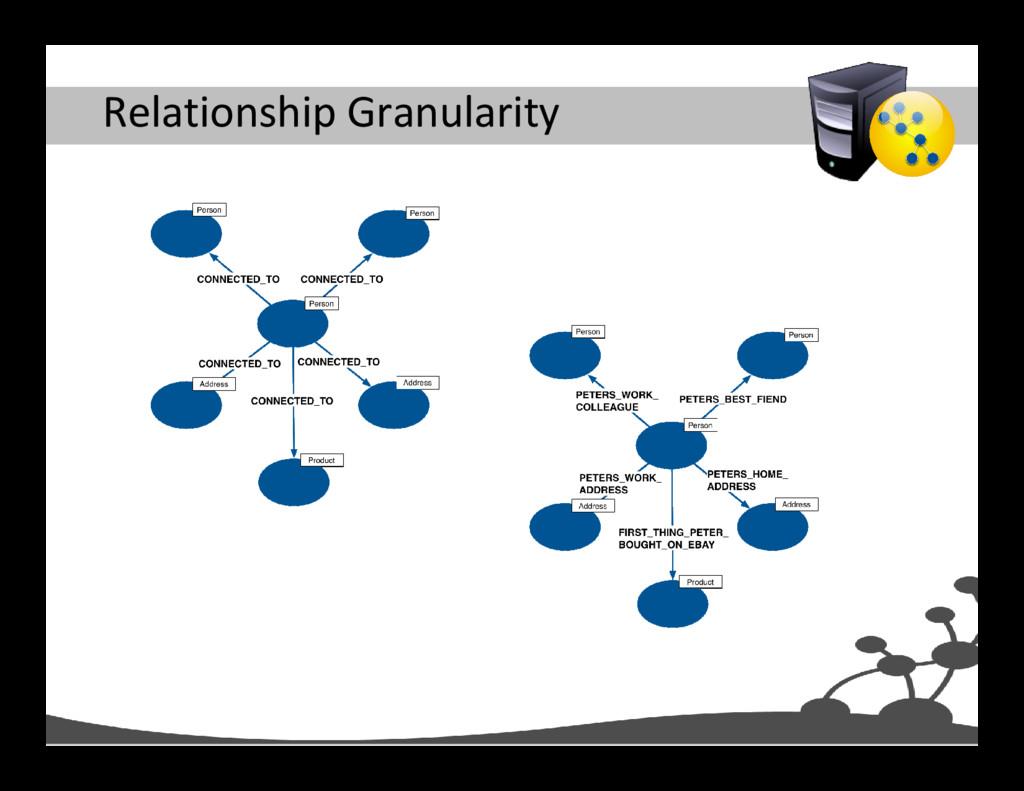 Relationship Granularity