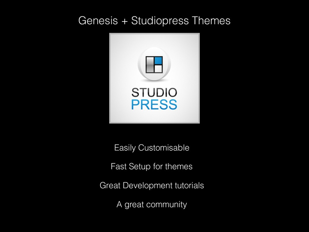 Genesis + Studiopress Themes Easily Customisabl...