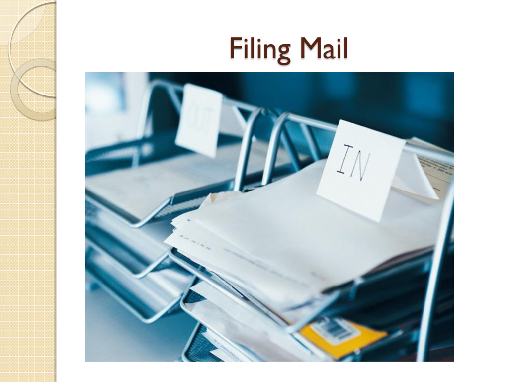 Filing Mail