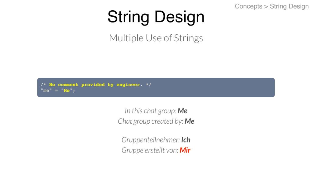 String Design Concepts > String Design Multiple...