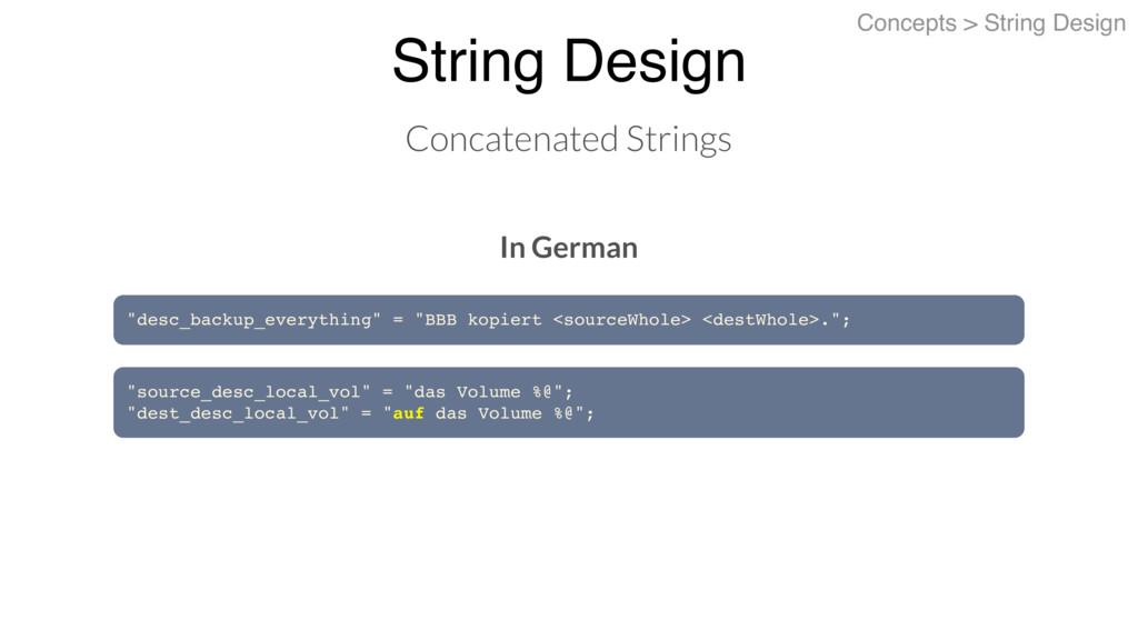 String Design Concepts > String Design Concaten...