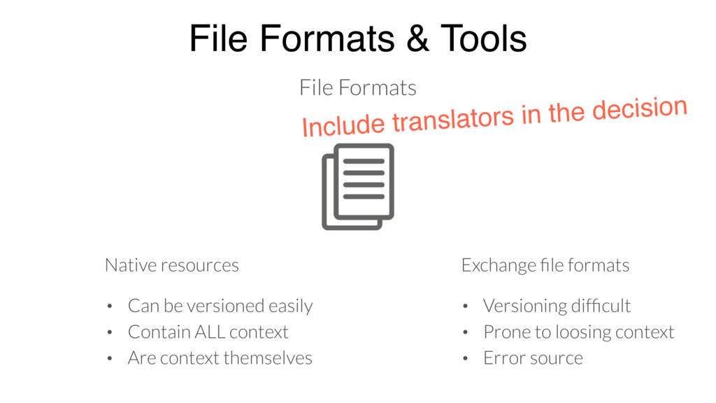 File Formats & Tools File Formats Native resour...