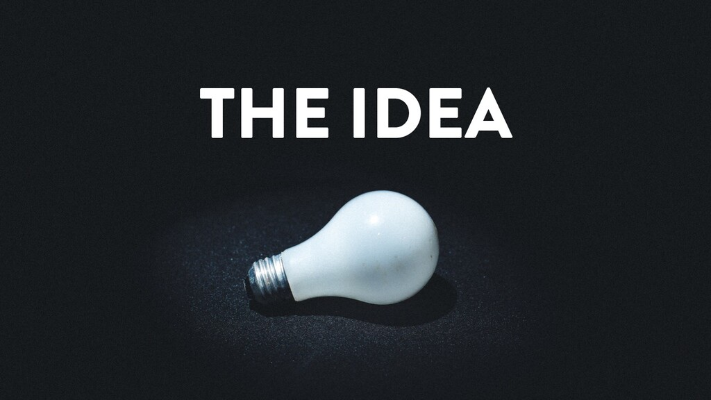 @marktimemedia THE IDEA