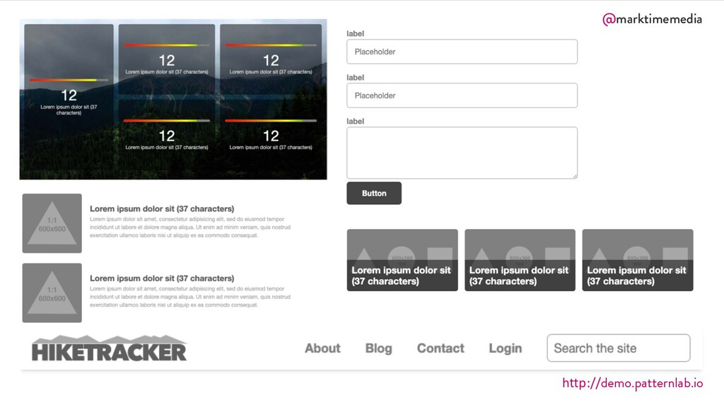 @marktimemedia http://demo.patternlab.io