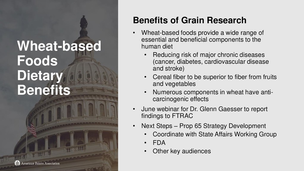 Wheat-based Foods Dietary Benefits Benefits of ...