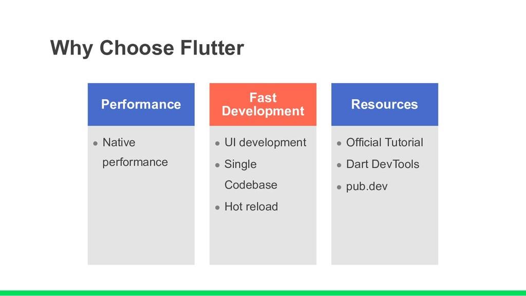 Performance l Native performance Fast Developme...
