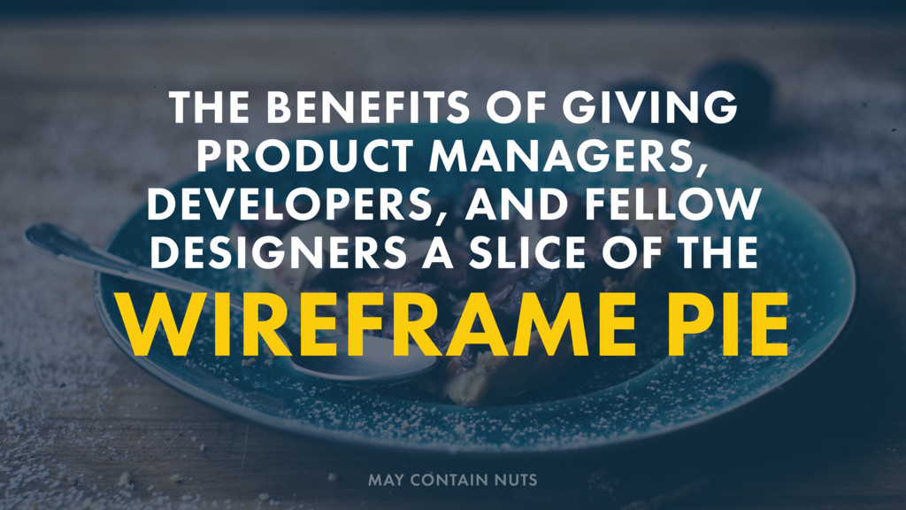 WIREFRAME PIE THE BENEFITS OF GIVING PRODUCT MA...