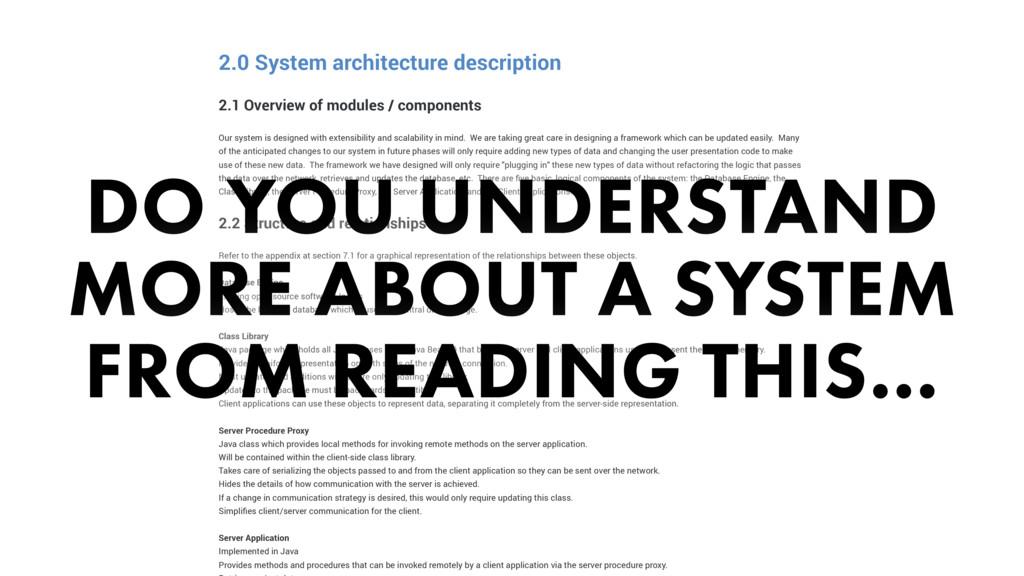 2.0 System architecture description 2.1 Overvie...