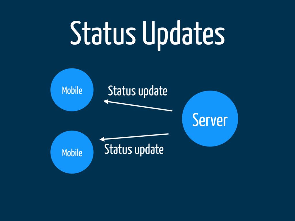 Status Updates Server Mobile Mobile Status upda...
