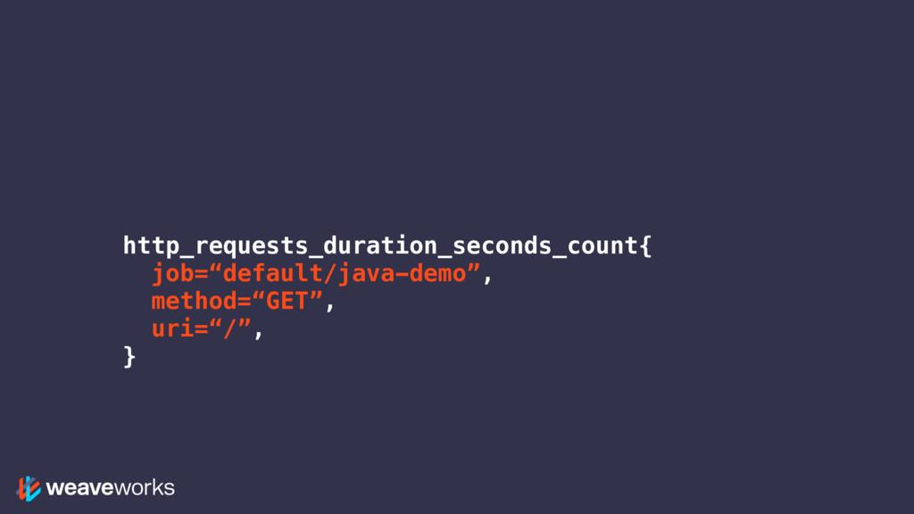 "http_requests_duration_seconds_count{ job=""defa..."