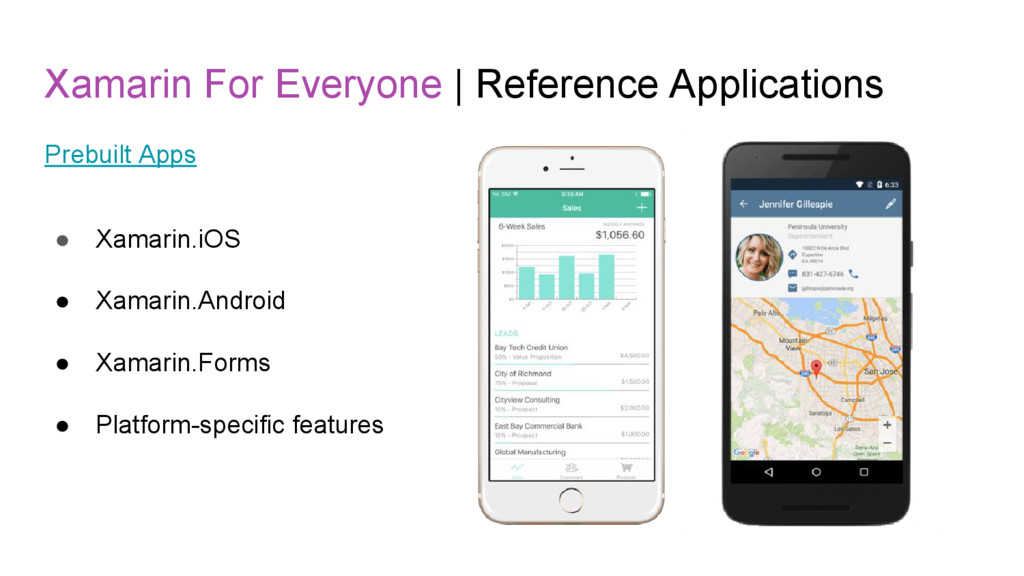 Xamarin For Everyone   Reference Applications P...