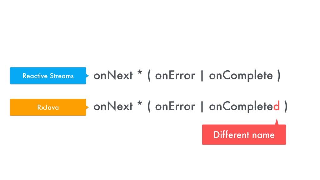 onNext * ( onError | onComplete )  onNext * ( ...