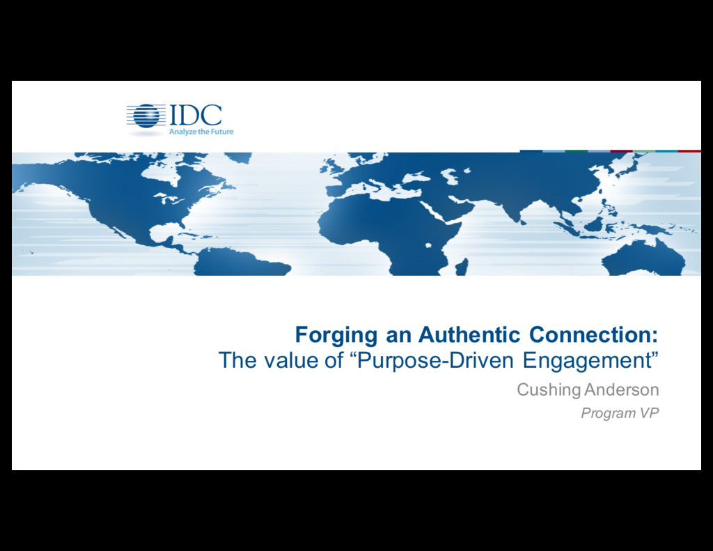 Forging an Authentic Connection: The value ...