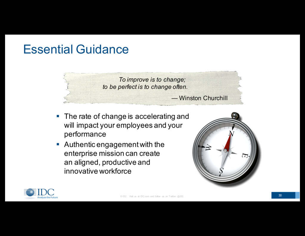 Essential Guidance § The rate of change i...