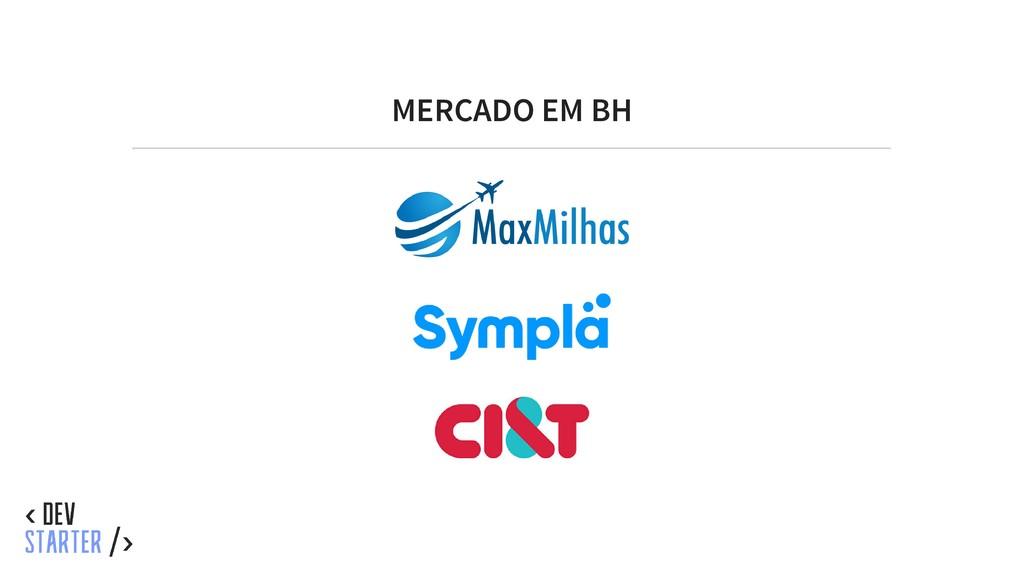 MERCADO EM BH