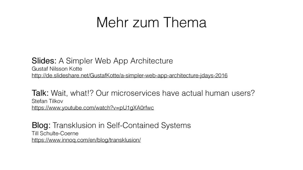 Slides: A Simpler Web App Architecture Gustaf ...