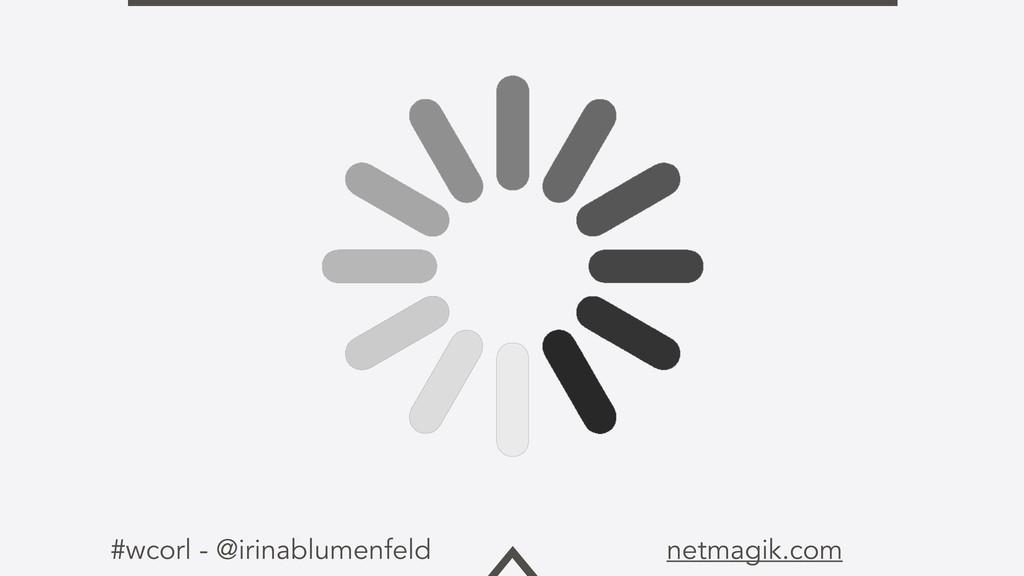 #wcorl - @irinablumenfeld netmagik.com