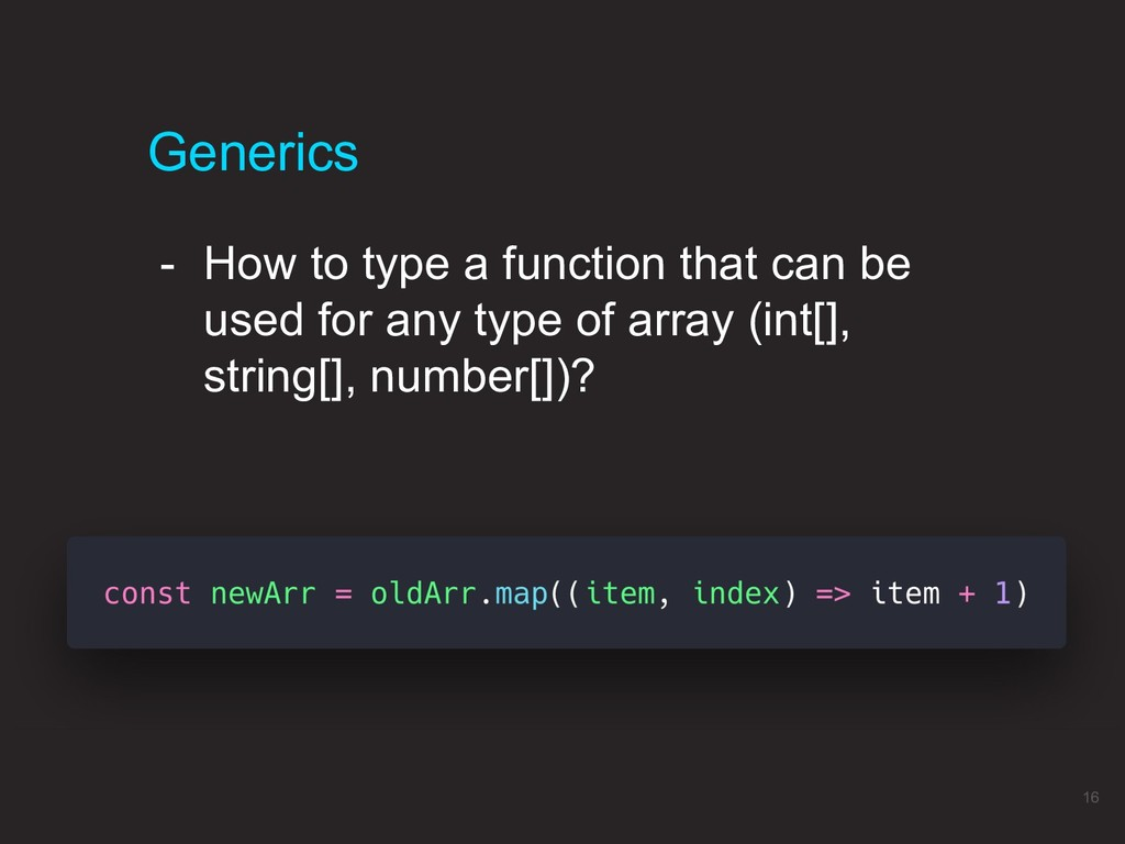 - How to type a function that can be used for a...