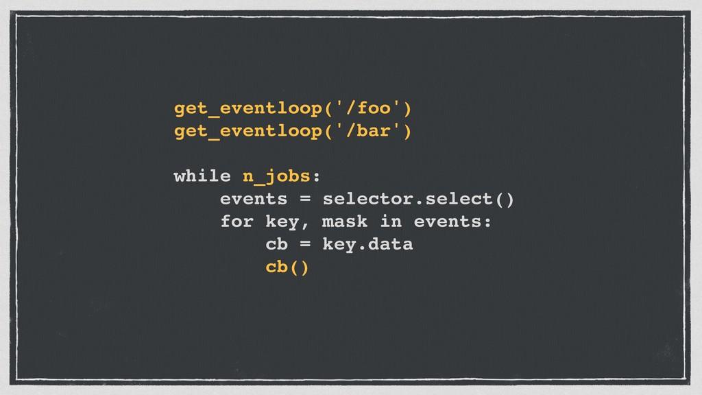 get_eventloop('/foo') get_eventloop('/bar') whi...