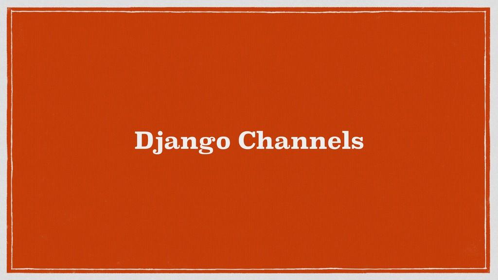 Django Channels