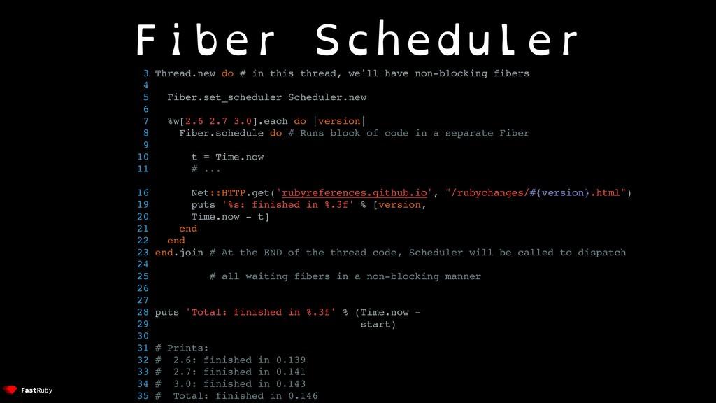 Fiber Scheduler 3 Thread.new do # in this threa...