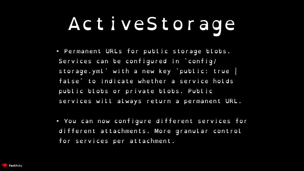 ActiveStorage • Permanent URLs for public stora...