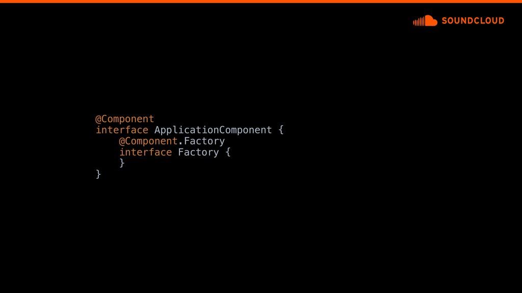 @Component interface ApplicationComponent {a @C...