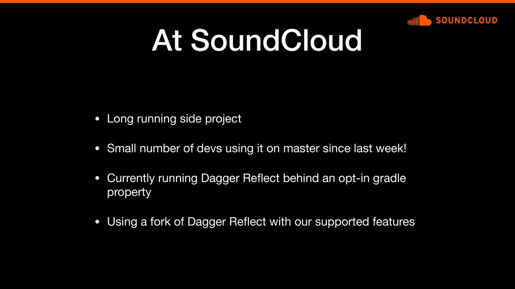 At SoundCloud • Long running side project  • Sm...
