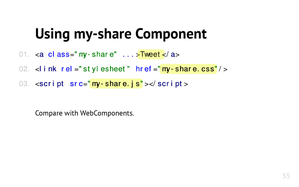 "Using my-share Component <a a class class=""my-s..."