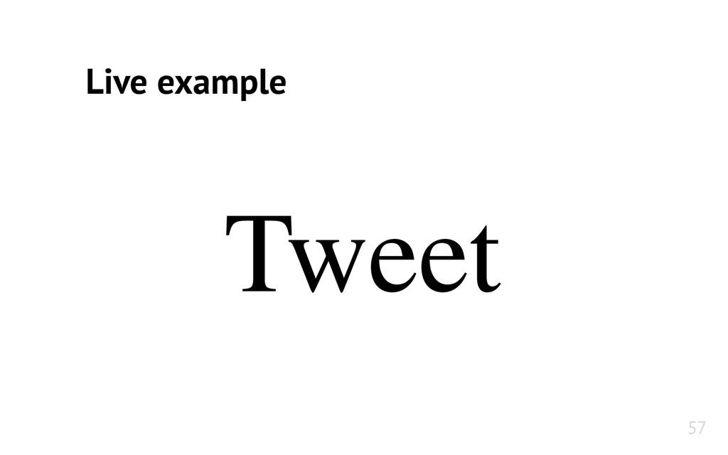 Tweet Live example 57