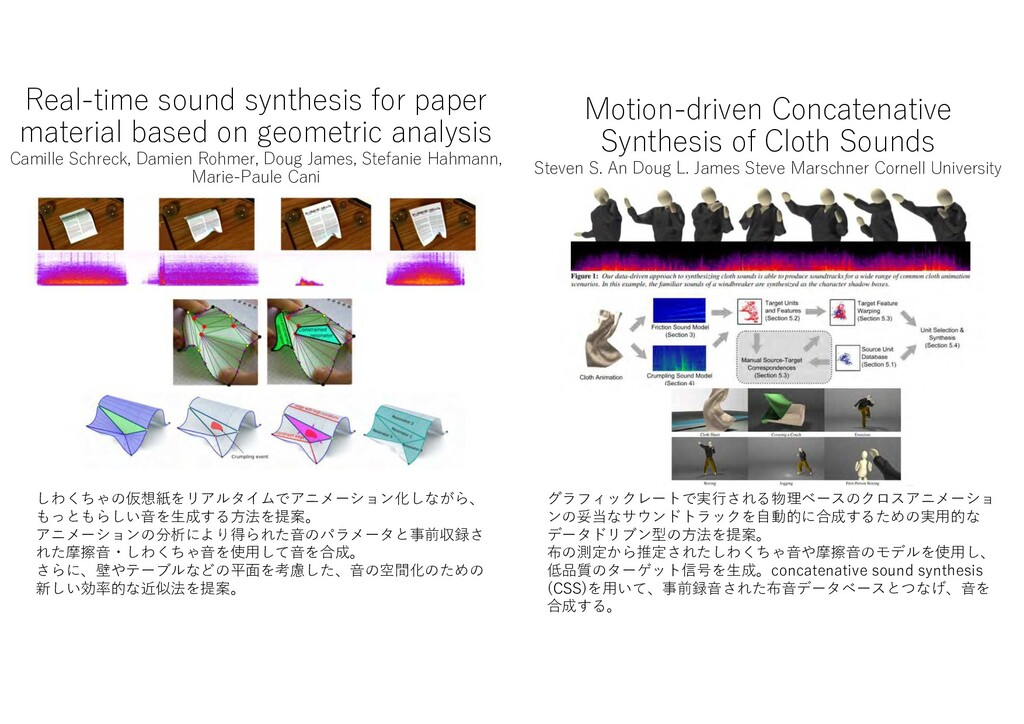 Real-time sound synthesis for paper material ba...