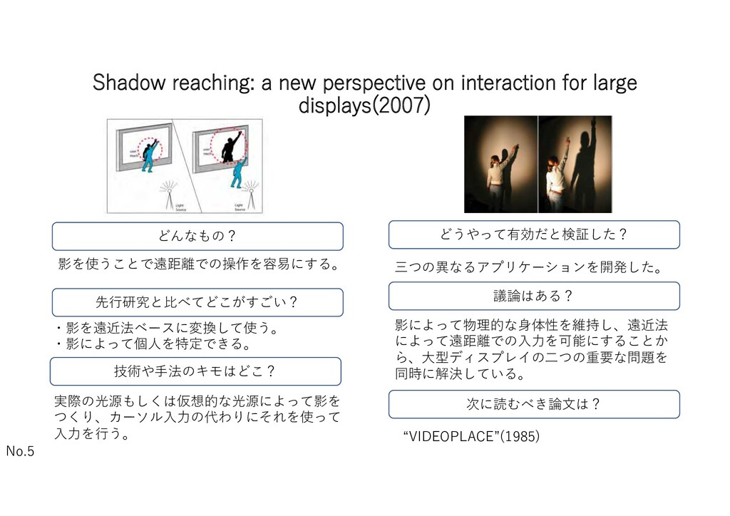 Shadow reaching: a new perspective on interacti...