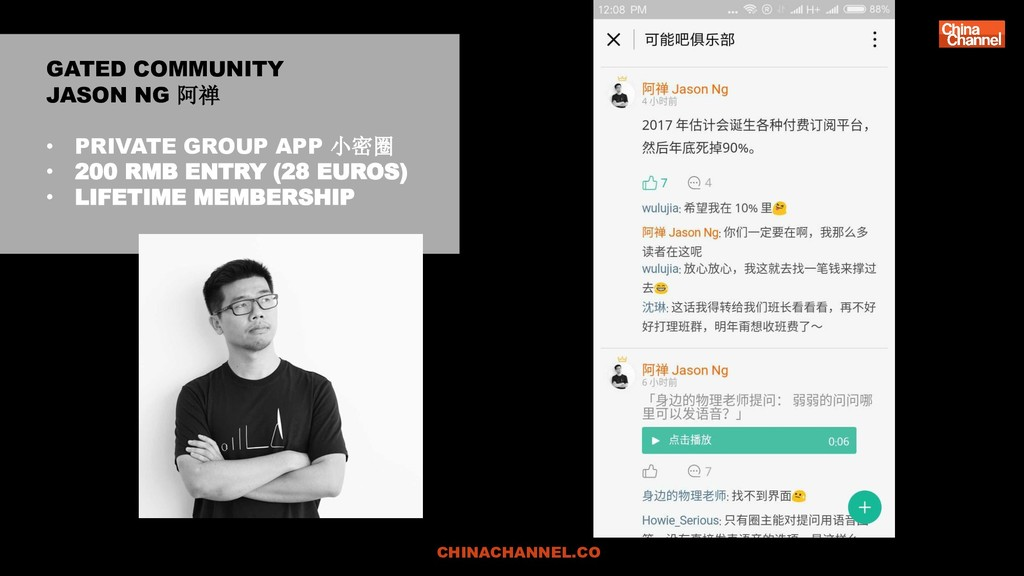 GATED COMMUNITY JASON NG 阿禅 • PRIVATE GROUP APP...