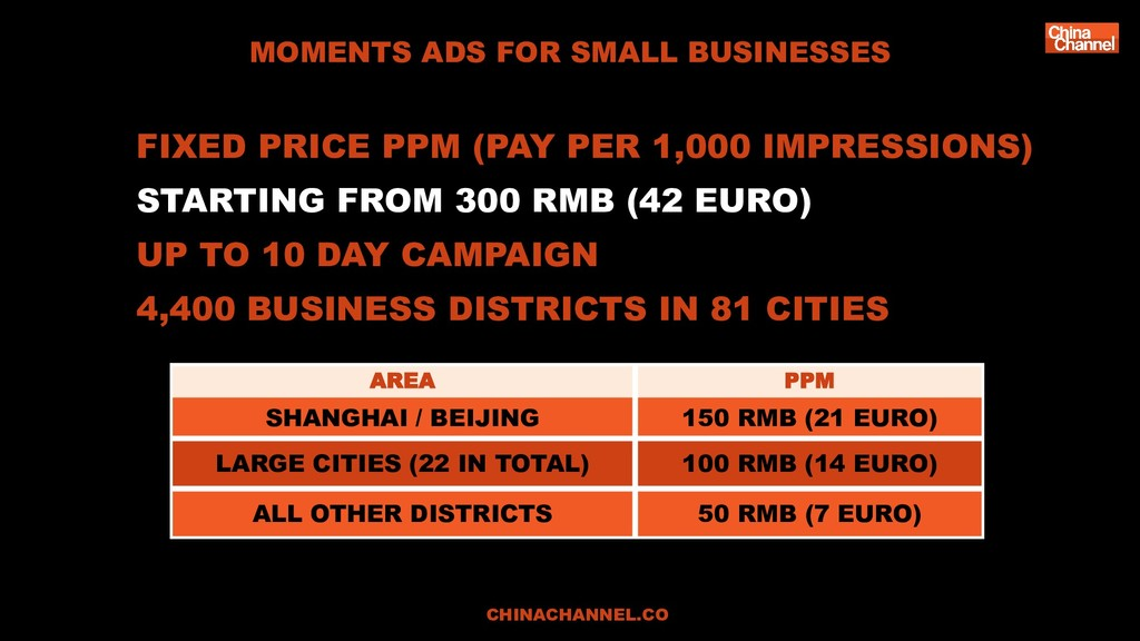 FIXED PRICE PPM (PAY PER 1,000 IMPRESSIONS) STA...