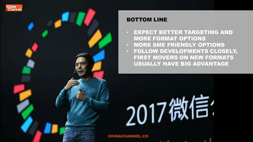 BOTTOM LINE • EXPECT BETTER TARGETING AND MORE ...