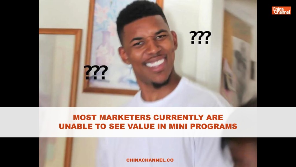 MOST MARKETERS CURRENTLY ARE UNABLE TO SEE VALU...