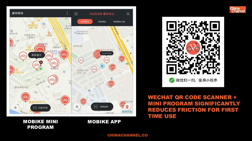 CHINACHANNEL.CO WECHAT QR CODE SCANNER + MINI P...