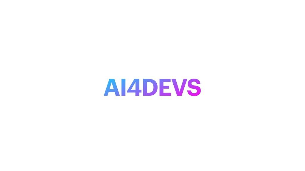 AI4DEVS