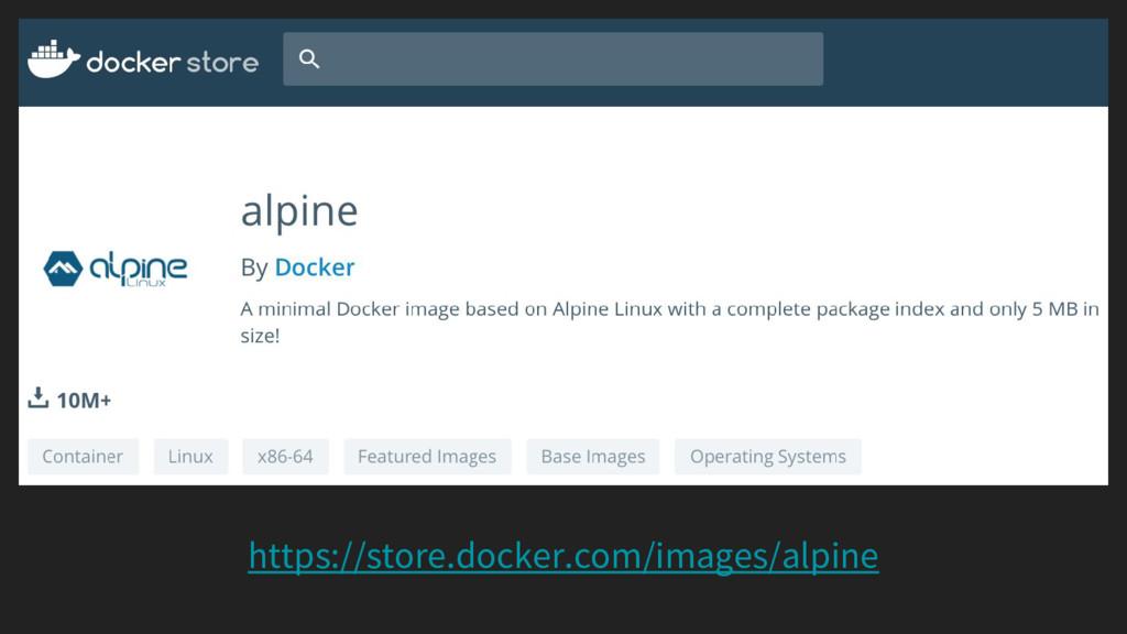 https://store.docker.com/images/alpine