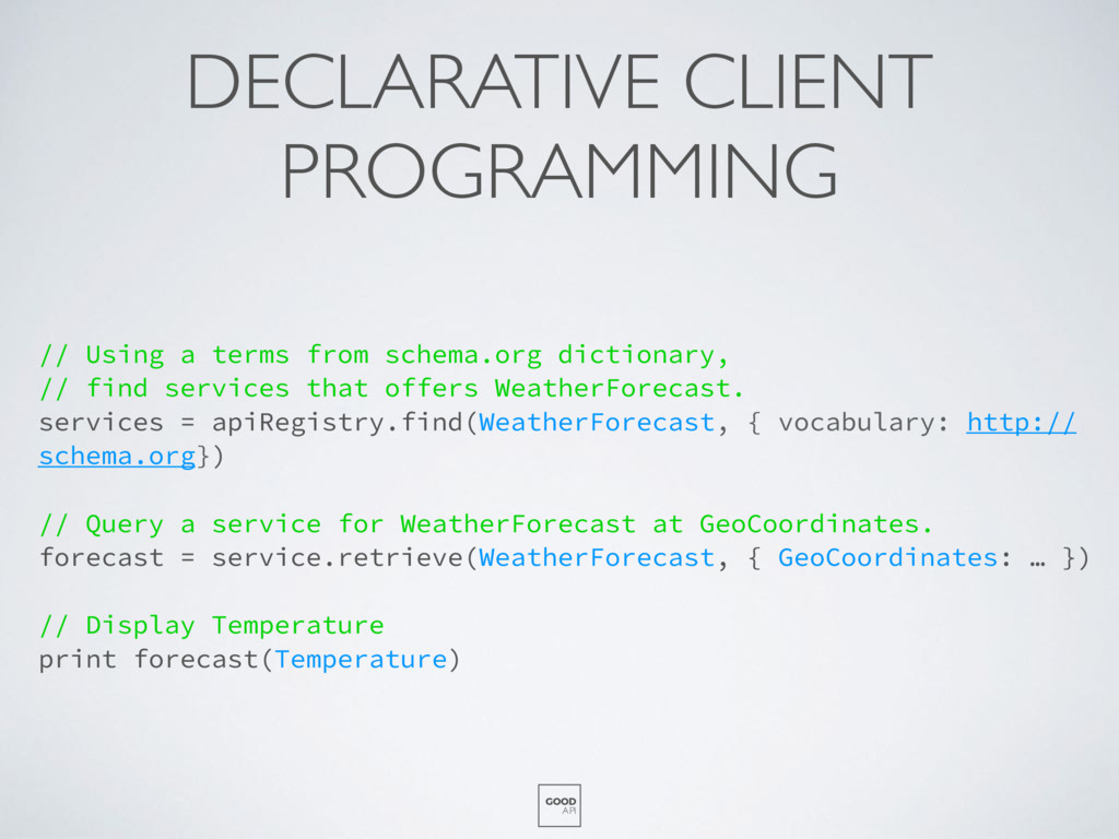 DECLARATIVE CLIENT PROGRAMMING // Using a terms...