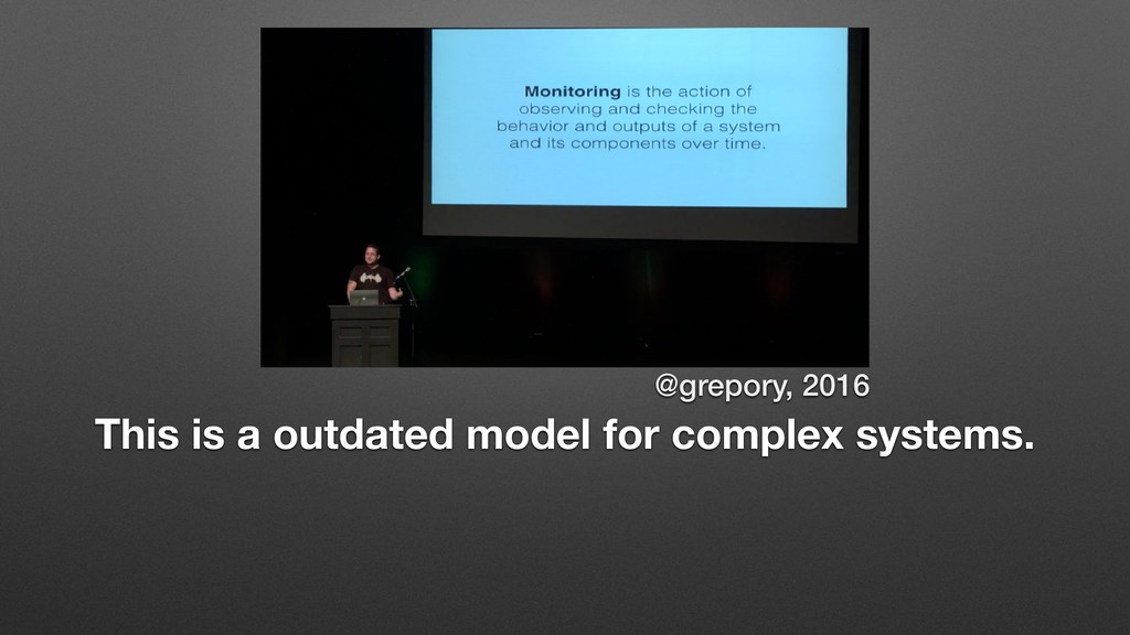 @grepory, 2016 This is a outdated model for com...