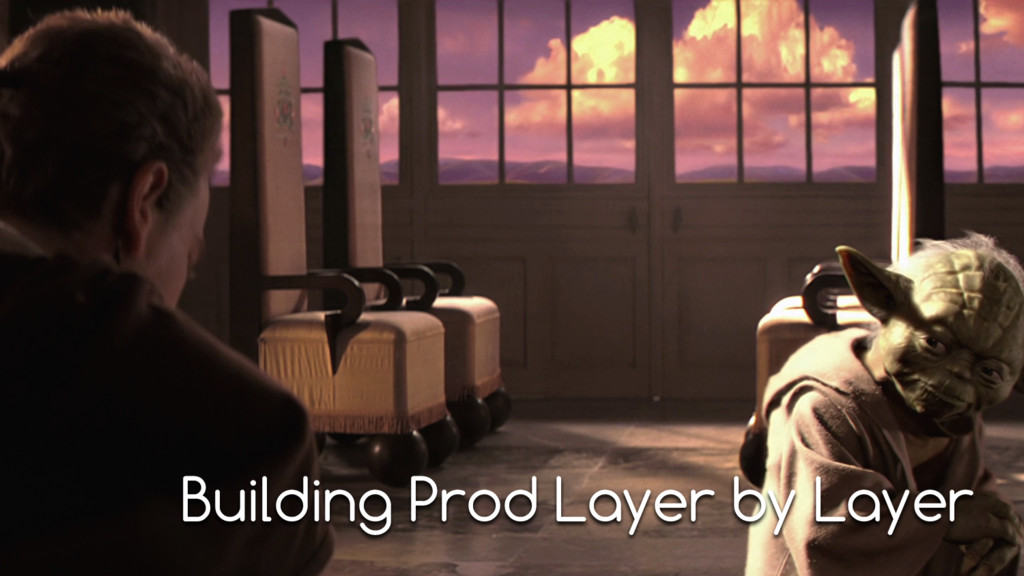 Building Prod Layer by Layer