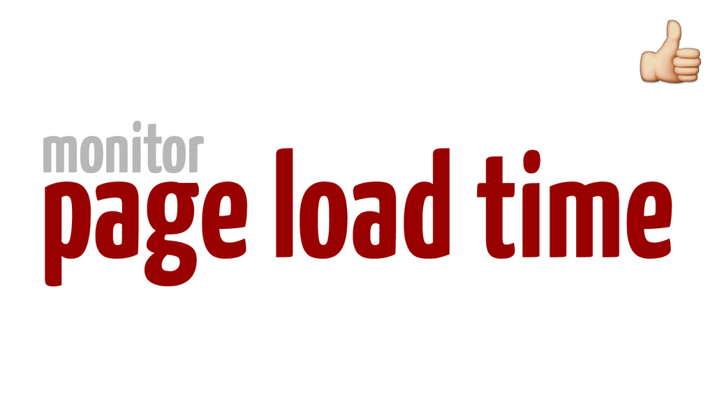 page load time monitor