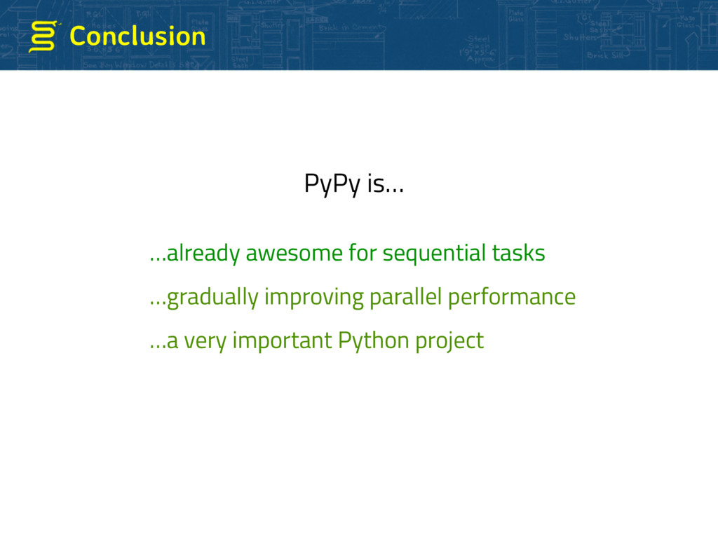 Conclusion …already awesome for sequential task...