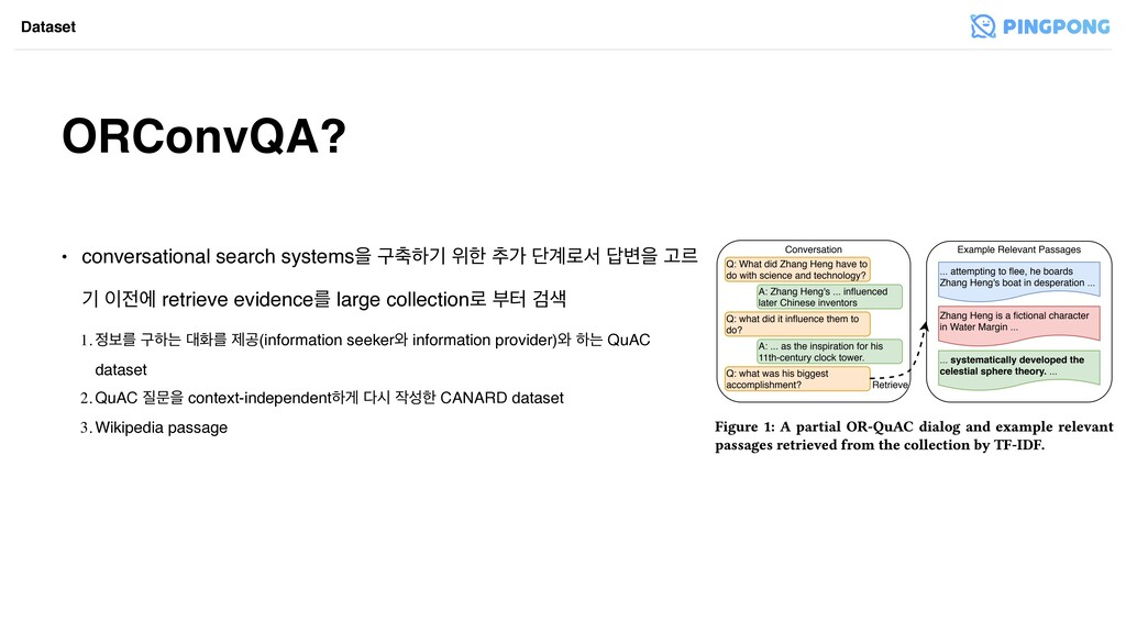 ORConvQA? Dataset • conversational search syste...